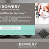 The Bowery Home Decor
