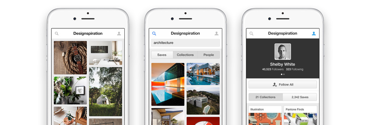 Introducing the Designspiration Mobile Website
