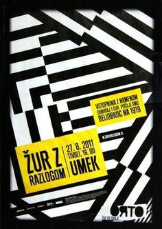 Žur z razlogom 11 | vbg.si - creative design studio #citylight #pattern #poster