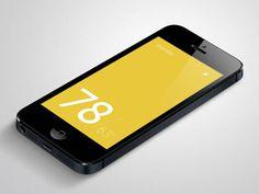 Weatherly - Weather Mobile App UI Design