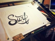 Hand Lettering #lettering #design #graphic #drawn #logo #hand #typography