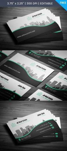 Free Property Management Business Card Template
