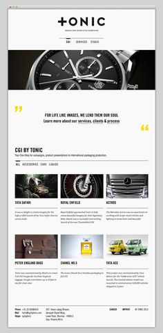 Tonic #website #layout #design #web