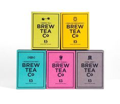 Brew Tea Co. #package design
