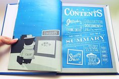 Content Page « Dedy Andrianto #illustration #typography