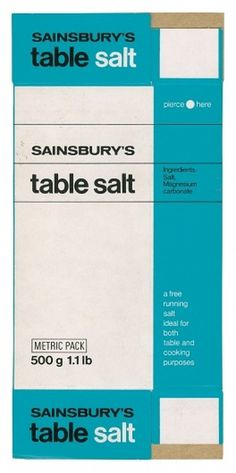 Creative Review - When Sainsbury's was out on its own #vintage packaging