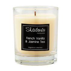 Tumbler French Vanilla & Jasmine Tea Scented Candle