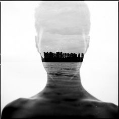 WANKEN - The Art & Design blog of Shelby White #photography #double exposure