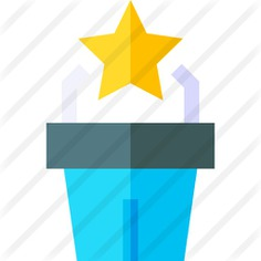 See more icon inspiration related to business and finance, pedestal, tribune, podium, conference, presentation, speech, microphone and networking on Flaticon.