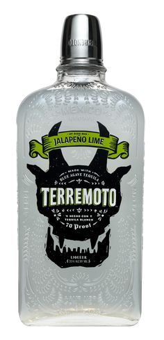 Branding and packaging for Terremoto tequila on Behance