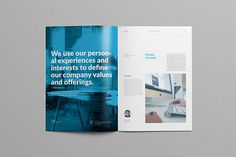 Studio Proposal 2.0 on Behance #annual report