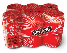 Bintang Limited Edition Can Packaging