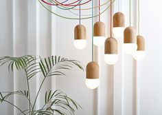 "Katerina Kopytina|http://katerinakopytina.com""In LightBeans lamp the globe bulb is not only the source of light but also an inte #lighting #interiors"