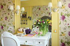 Apartment Design with Spring Accents #interior #design #space #architecture #room