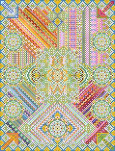 NOW 20x200 | Marian Bantjes #patterns #art
