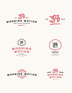 Morning Motion #logo #web #motion #morning