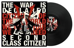 Second Class Citizen The War Is Declared EP - 13decembre - Séverin Boonne #music #collage