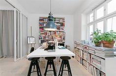 Arbetsrum/sovrum #interior #design #stockholm #decoration