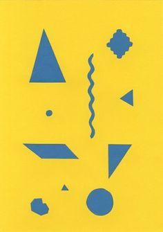 Shapebook // Yellow #hapebook #poster