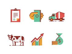 African Economy by Makers Company #icon #iconic #icondesign #symbol #picto #pictogram #iconography