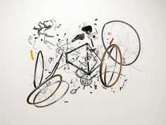8: Bicycle, 1980s | A Photographer Finds Order And Chaos In Disassembled Gadgets | Co.Design: business + innovation + design