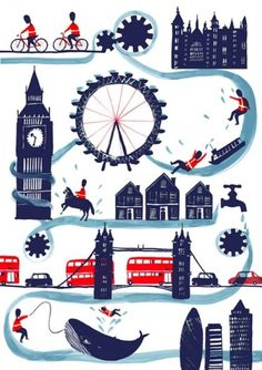 charlottetrounce_05.jpg (510×721) #london #illustration #watercolor