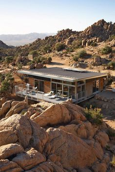 Prefab Sustainable Home Perched Amidst a Pristine High Desert 2