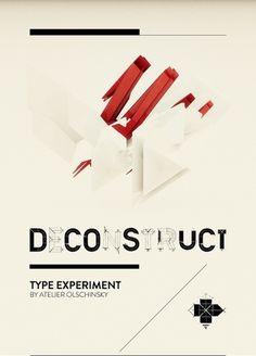 atelier olschinsky #poster #typography