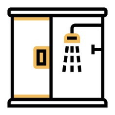 See more icon inspiration related to door, bathroom, shower, furniture and household, hygiene, relax, , glass and medical on Flaticon.
