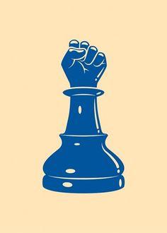 Mahala 3 Spot Illustrations on the Behance Network #vector #pawn #kronk