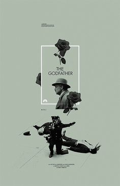 The Godfather #graphic #poster