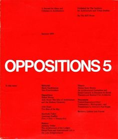 Oppositions Magazine 1973-1984 | AisleOne #international #magazine #oppositions #typographic #grid #1970s #1980s #style