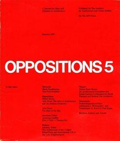Oppositions Magazine 1973-1984 | AisleOne #international #magazine #oppositions #typographic #grid #1970s #1980s #style