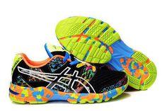 Mens Asics Gel Noosa TRI 8 Black Orange Shoes #shoes