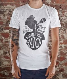 CXXVI Clothing Co. — Hatch White #illustration #tee #apparel