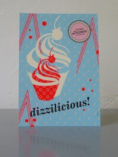 Cupcake Dizziness #collibri #fellerer #illustration #identity #marge