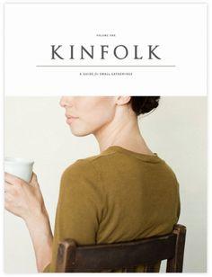cover #magazine #print #kinfolk #branding