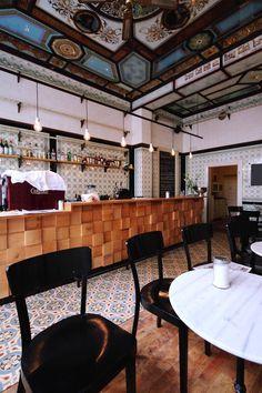 michael grzesiak transforms a century old butcher shop into a bar  UNDER BAR