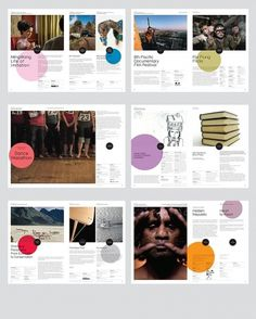 booklet #brochure #layout #festival #branding