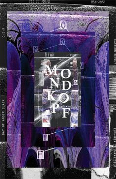 Mondkopf - Musical Poster Camille-Charlie Thomas Charlieth.com #type #mondkopf #berlin #camille charlie thomas #poster #music