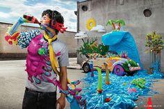 Denis Kakazu #print #advertising #coca #colors #cola
