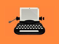 Dev Gupta #illustration #typewriter