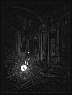 """Darkness Forgives"" by Daniel Danger #Illustration #DanielDanger"