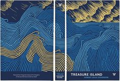 Treasure Island #cover #design #graphic #book