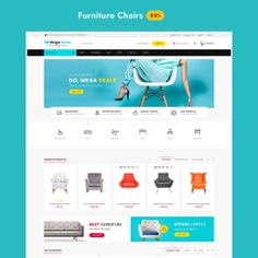 #MegaDeals #Furniture - #Multipurpose #Mega Store - #Prestashop #Responsive #Theme | #TemplateTrip #eCommerce #Website #Design #Template