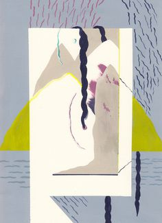 three braids Kim Westfall #painting