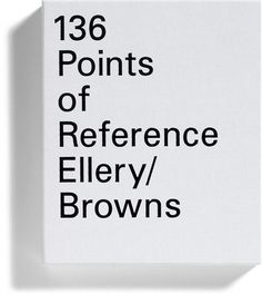 Browns - Work #print #typography