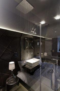 CJWHO ™ (Little Loft, Prague, Czech Republic by Oooox) #loft #republic #design #bathroom #photography #czech #luxury #prague