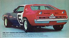 1971 AMC #AMX #illustration