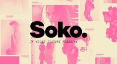 SOKO zine, POGO | art & design boutique #fashion #soko #pogo #magazine